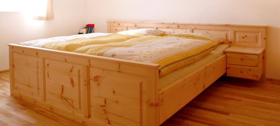 schlafzimmer zirbenholz – progo